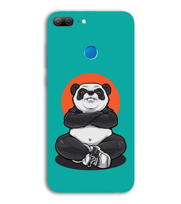 Angry Panda Back Cover for Huawei Honor 9 Lite