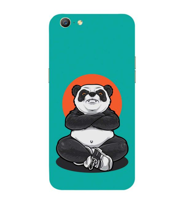 Angry Panda Back Cover for Oppo A57 : A39
