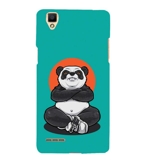 Angry Panda Back Cover for Oppo F1