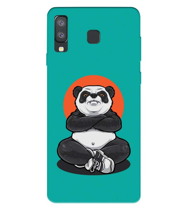 Angry Panda Back Cover for Samsung Galaxy A8 Star