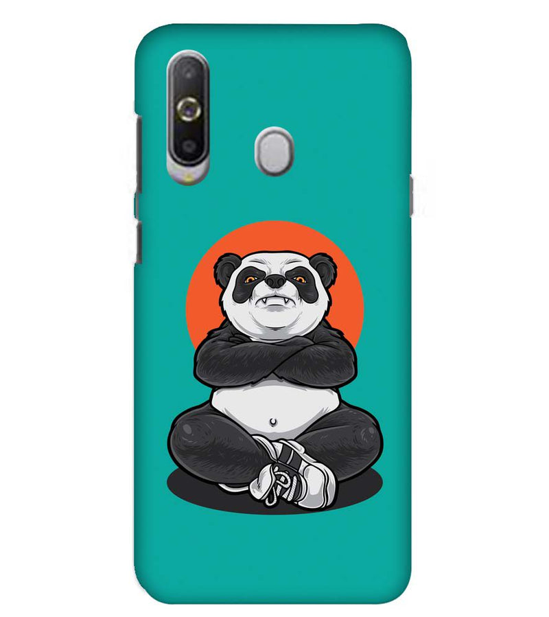 Angry Panda Back Cover for Samsung Galaxy A8s