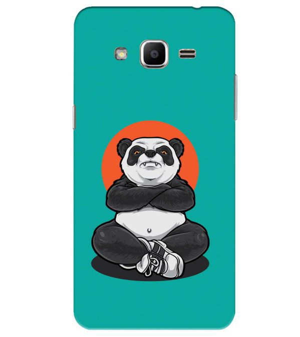 Angry Panda Back Cover for Samsung Galaxy J2 Ace
