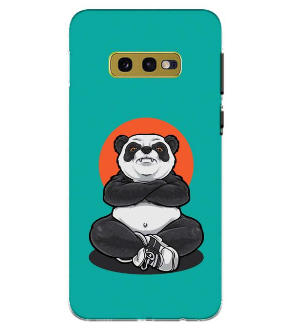 Angry Panda Back Cover for Samsung Galaxy S10e (5.8 Inch Screen)