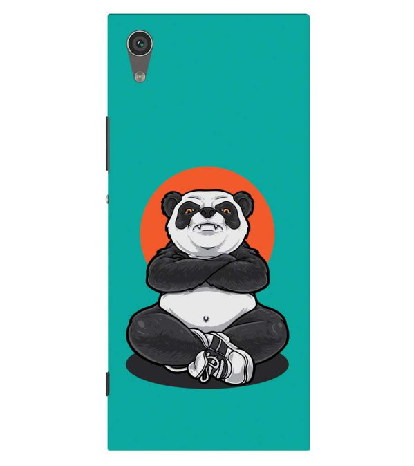 Angry Panda Back Cover for Sony Xperia XA1 Plus