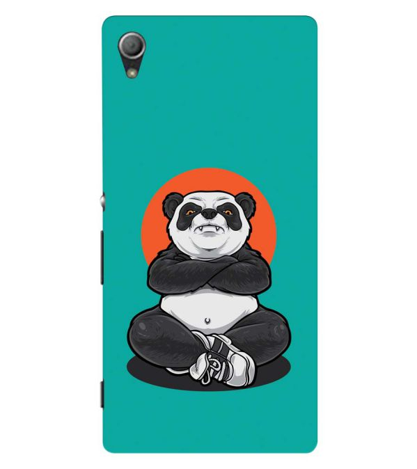 Angry Panda Back Cover for Sony Xperia Z3+ and Xperia Z4