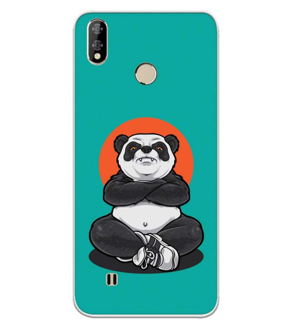 Angry Panda Back Cover for Coolpad Mega 5-Image3