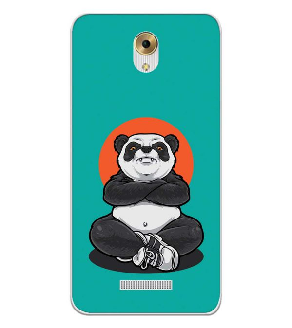 Angry Panda Back Cover for Coolpad Mega 5M-Image3