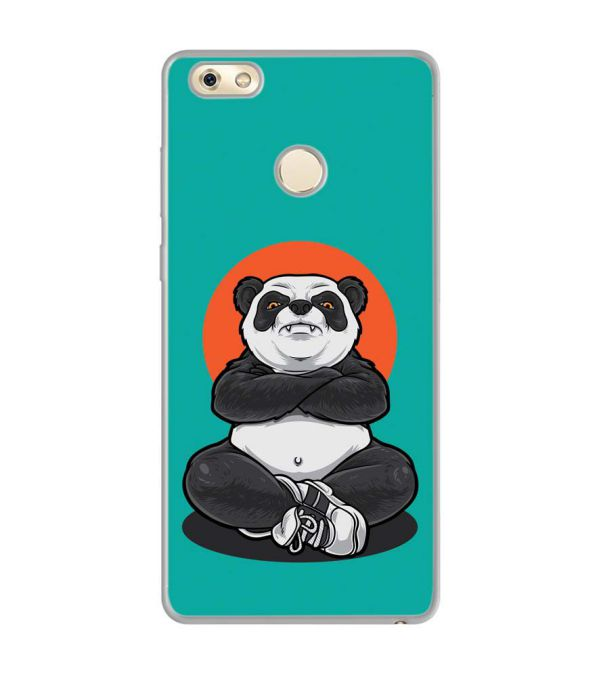 Angry Panda Soft Silicone Back Cover for Gionee M7 Power