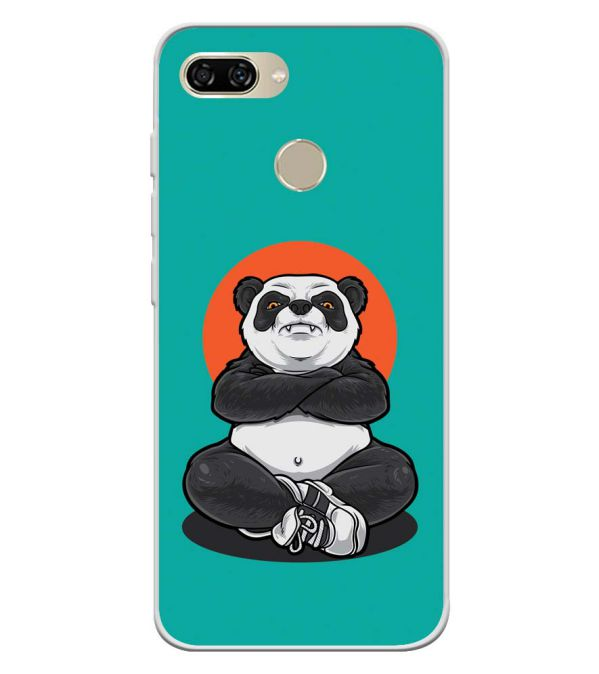Angry Panda Soft Silicone Back Cover for Gionee S11 lite
