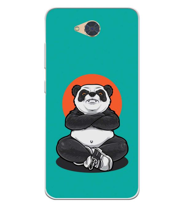 Angry Panda Soft Silicone Back Cover for Gionee S6Pro