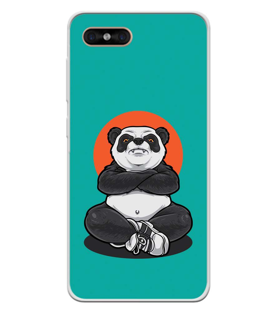 Angry Panda Soft Silicone Back Cover for Gome C7