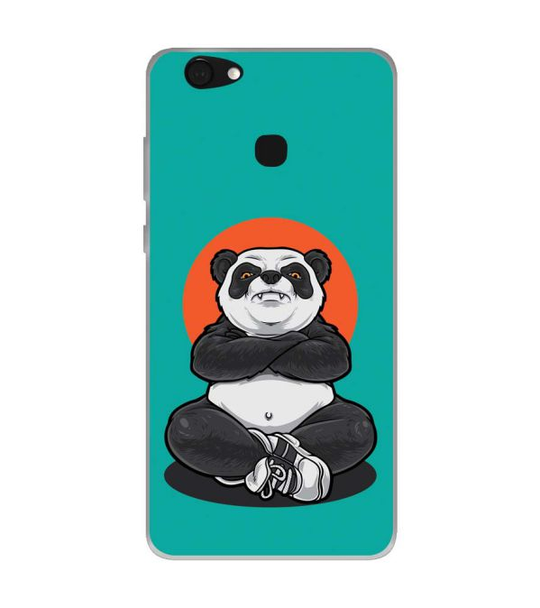Angry Panda Soft Silicone Back Cover for Kult Gladiator