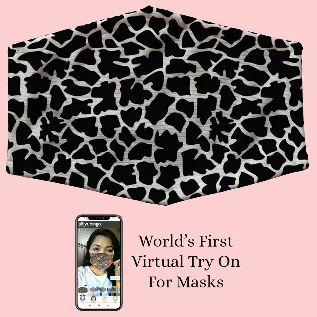 Animal Pattern Mask