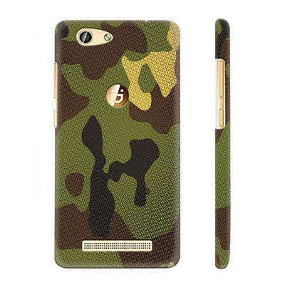 Army Camouflage Back Cover for Gionee F103 Pro