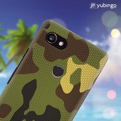 Army Camouflage Back Cover for Google Pixel 2 XL (6 Inch Screen)-Image4