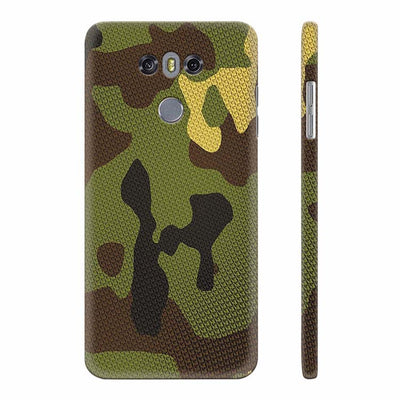 Army Camouflage Back Cover for LG G6