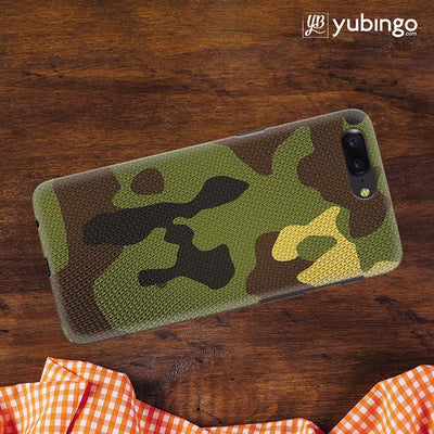 huge discount 48728 c79e1 YuBingo - Buy Army Camouflage Personalized Cover for OnePlus 5 in ...