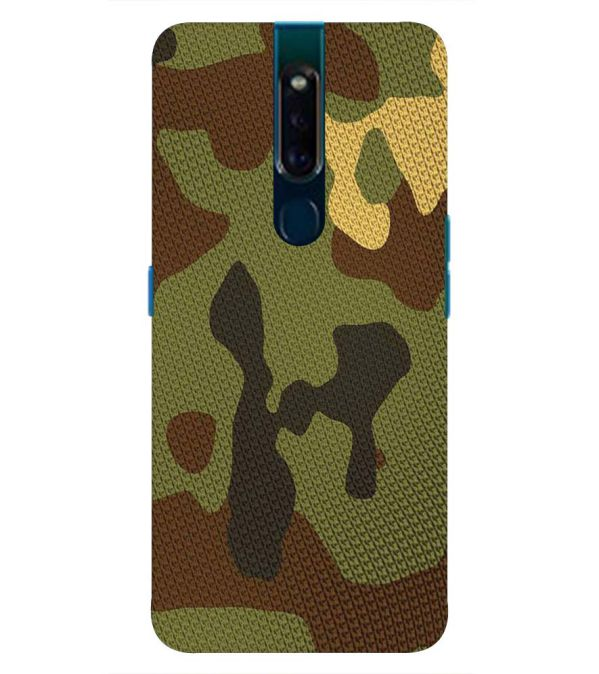 promo code d13be 58f6e Army Camouflage Back Cover for Oppo F11 Pro