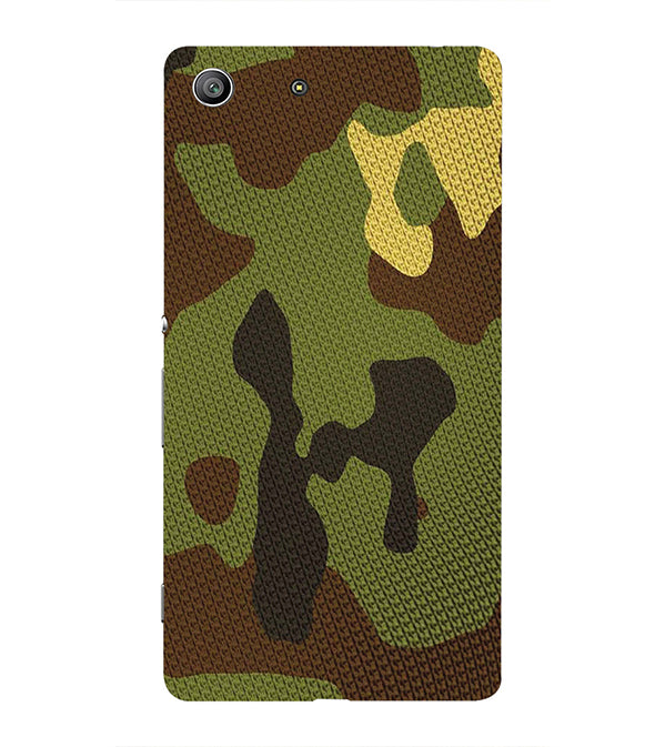 Army Camouflage Back Cover for Sony Xperia Z3 Compact