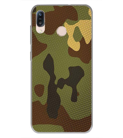 Army Camouflage Back Cover for Asus Zenfone Max Pro M1