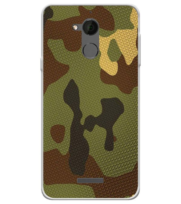 Army Camouflage Soft Silicone Back Cover for Coolpad Note 5
