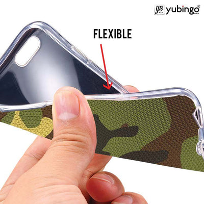 Army Camouflage Soft Silicone Back Cover for Coolpad Note 5-Image2