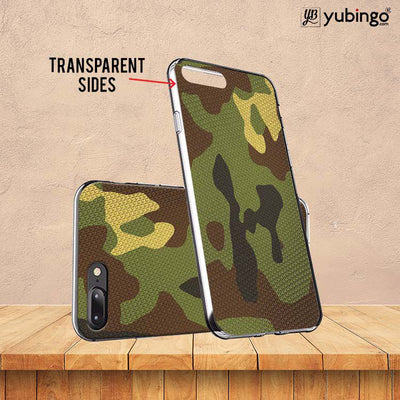 Army Camouflage Soft Silicone Back Cover for Coolpad Note 5-Image3