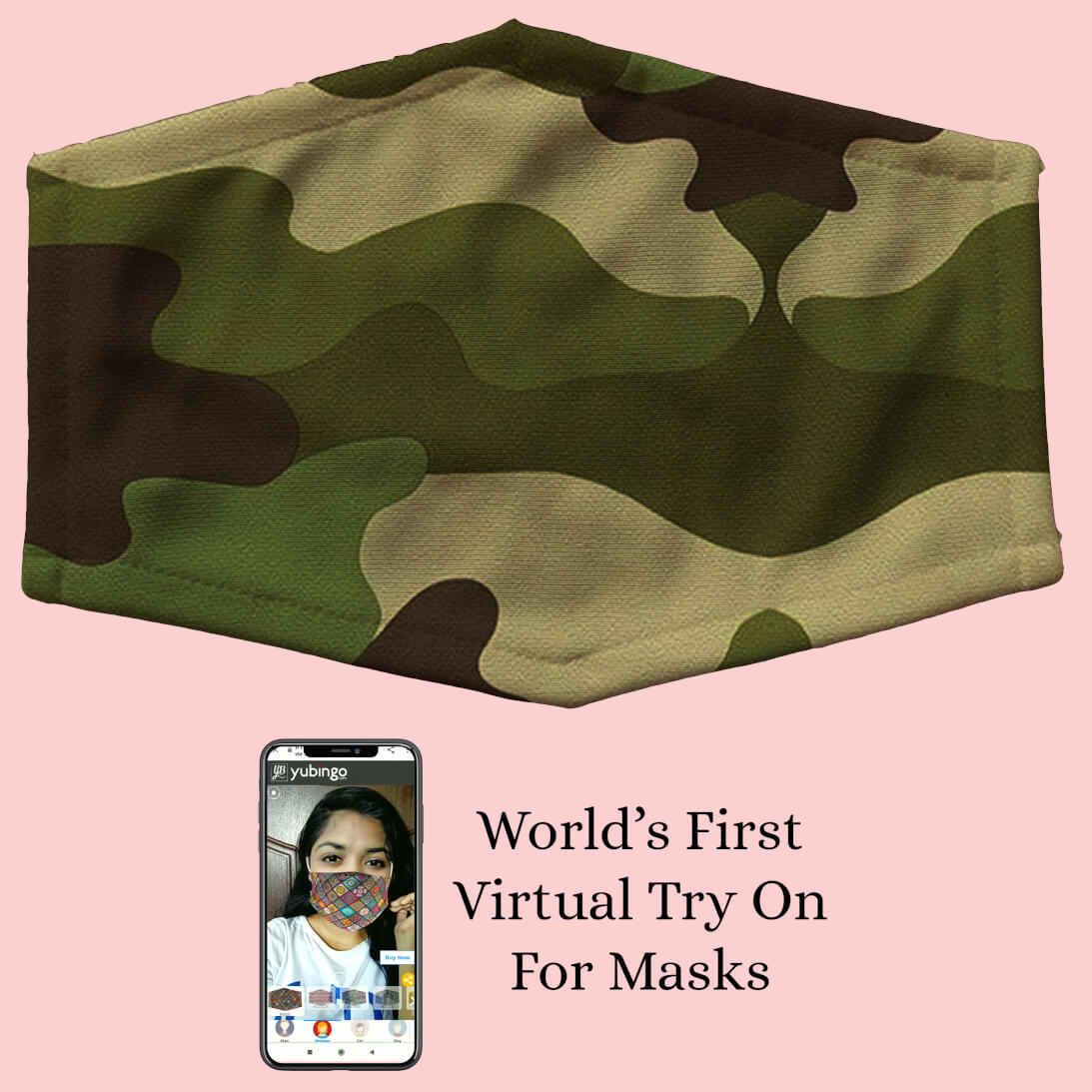 Army Pattern Mask