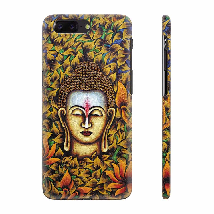 Artistic Buddha Back Cover for OnePlus 5