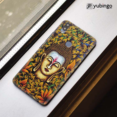Artistic Buddha Back Cover for Vivo X21-Image3