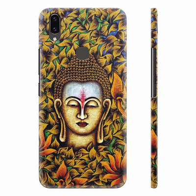 Artistic Buddha Back Cover for Vivo X21