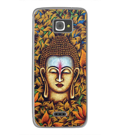 Artistic Buddha Back Cover for InFocus M350