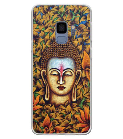 Artistic Buddha Back Cover for Samsung Galaxy S9
