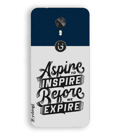 Aspire to Inspire Back Cover for Gionee A1