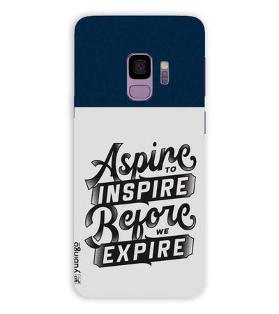 Aspire to Inspire Back Cover for Samsung Galaxy S9