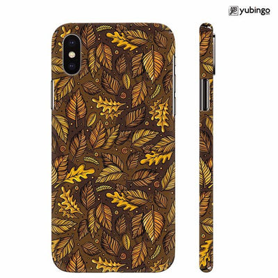 Autumn Leaves Back Cover for Apple iPhone X
