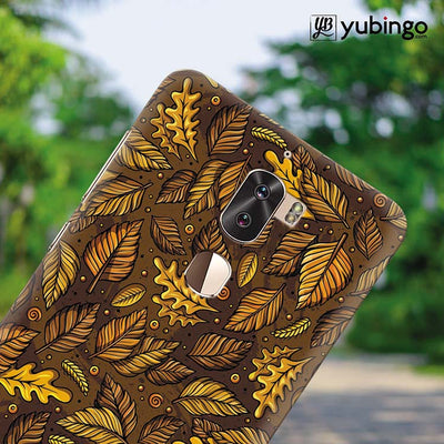 Autumn Leaves Back Cover for Coolpad Cool 1-Image4