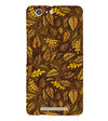 Autumn Leaves Back Cover for Gionee Marathon M5