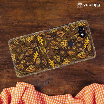 Autumn Leaves Back Cover for Google Pixel 2 XL (6 Inch Screen)-Image3