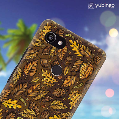 Autumn Leaves Back Cover for Google Pixel 2 XL (6 Inch Screen)-Image4