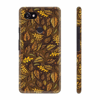Autumn Leaves Back Cover for Google Pixel 2 XL (6 Inch Screen)