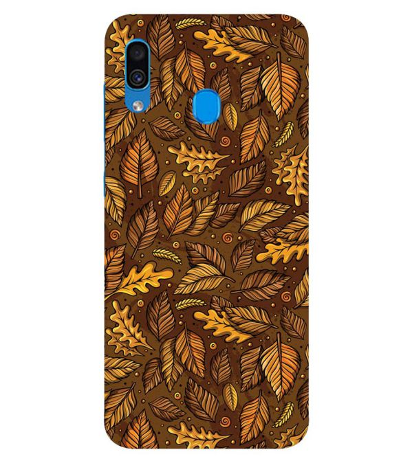 Autumn Leaves Back Cover for Samsung Galaxy A30