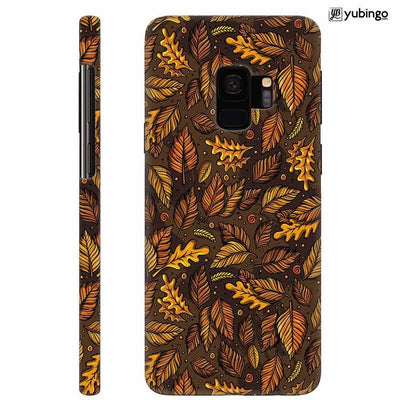 Autumn Leaves Back Cover for Samsung Galaxy S9