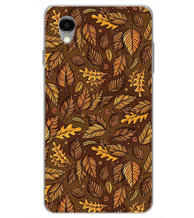 Autumn Leaves Back Cover for ITEL PWO Pro