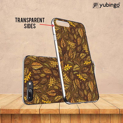 Autumn Leaves Back Cover for ITEL PWO Pro-Image3