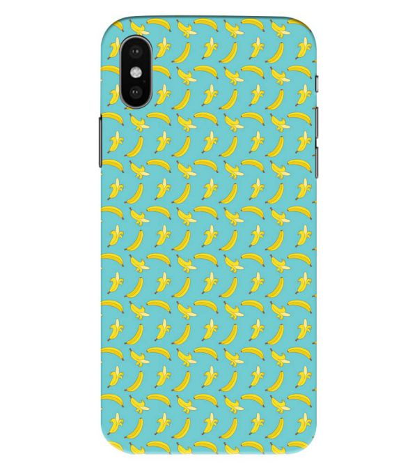 Banana Pattern Back Cover for Apple iPhone XS Max (Big 6.5 Inch Screen)