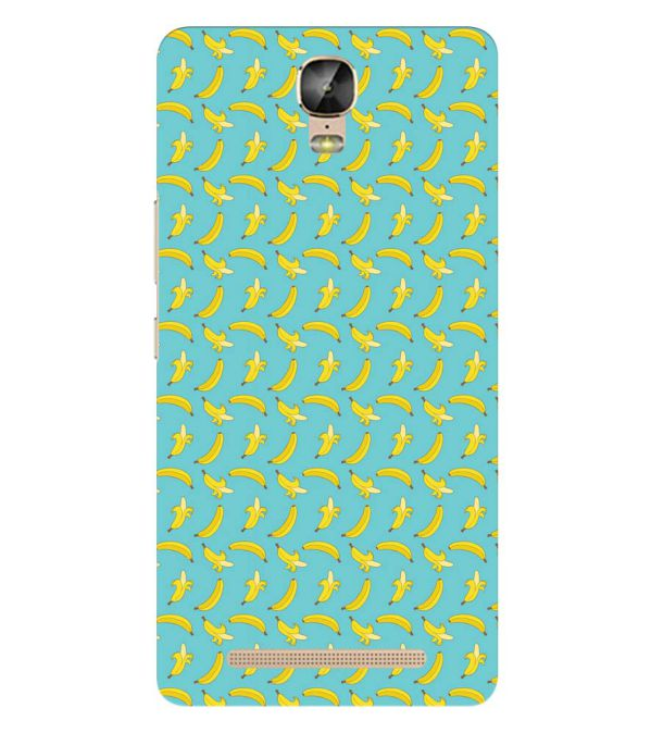 Banana Pattern Back Cover for Gionee Marathon M5 Plus