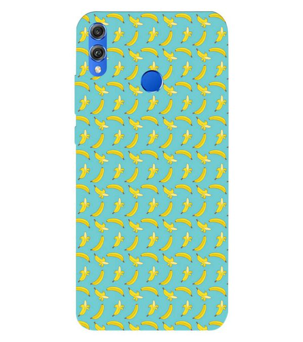 Banana Pattern Back Cover for Huawei Honor 8X