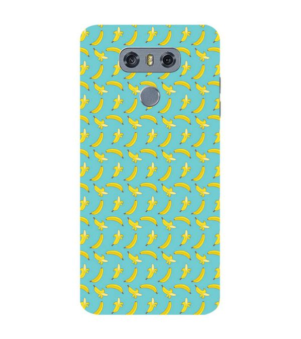Banana Pattern Back Cover for LG G6