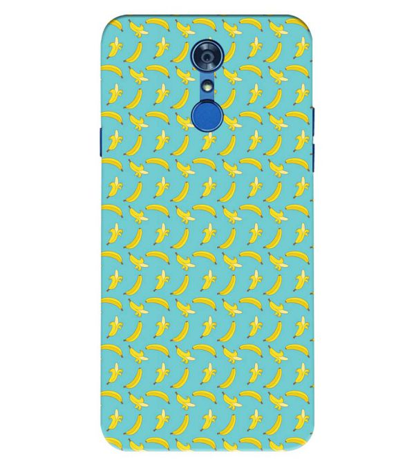 Banana Pattern Back Cover for LG Q7